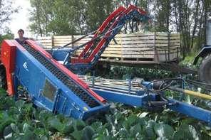 Комбайны для уборки капусты ASA-LIFT серии МК-1000.